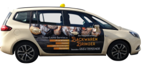 Backwaren Bringer Taxi