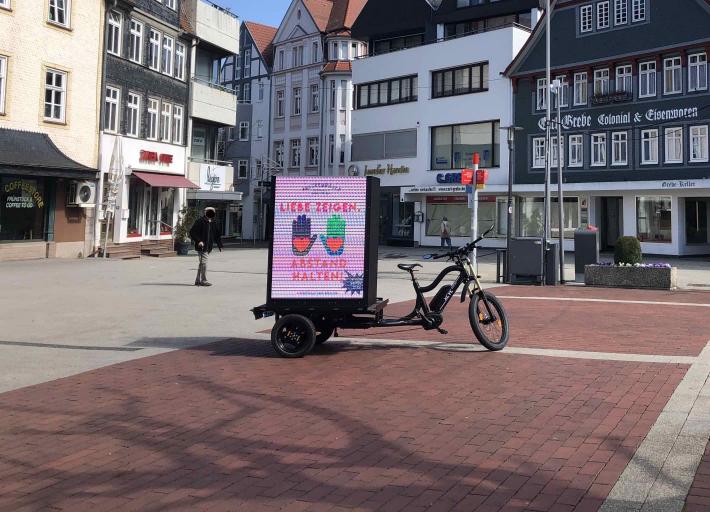 Bike - Liebe Zeigen