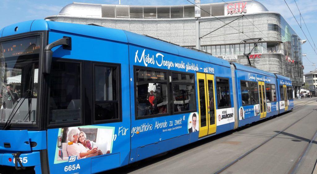 Möbel Jäger Straßenbahn